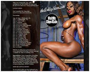 Ashley Starr Website