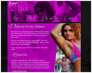 Biceps Ella, website of Mihaela Radu